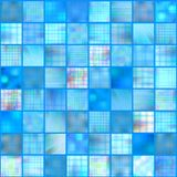 Mosaic tiles, vector. Colorful abstract mosaic tiles, vector without gradient vector illustration
