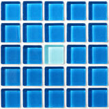 Mosaic tiles wall Royalty Free Stock Photos