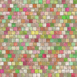 Mosaic Tiling. Seamless background with the pastel mosaic tiling pattern Royalty Free Stock Photos