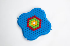 Mosaic toy Royalty Free Stock Image