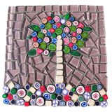 Mosaic tree Royalty Free Stock Photos