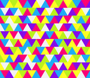 Mosaic triangle pattern Royalty Free Stock Photography