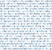 Mosaic triangle pattern. Seamless vector geometric background Royalty Free Stock Images