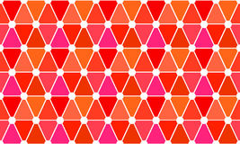 Mosaic triangles seamless background Royalty Free Stock Photos