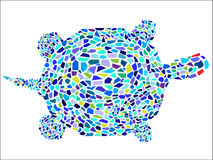 Mosaic Turtle Royalty Free Stock Photo