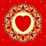 Mosaic Valentine Stock Image