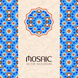 Mosaic vector background Stock Image