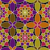 Mosaic vector seamless pattern Royalty Free Stock Photography