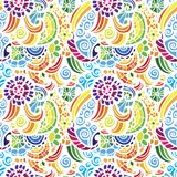 Mosaic vector seamless pattern Stock Images