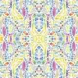 Mosaic vector seamless pattern Royalty Free Stock Image