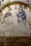Mosaic of Virgin Mary and Jesus Christ, istanbul, Turkey Royalty Free Stock Images