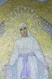 Mosaic of Virgin Mary Stock Photo
