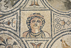Mosaic from Volubilis Royalty Free Stock Image