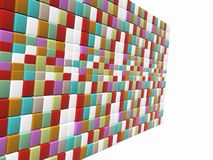 Mosaic wall Royalty Free Stock Photos