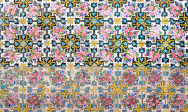 Mosaic wall Royalty Free Stock Photography
