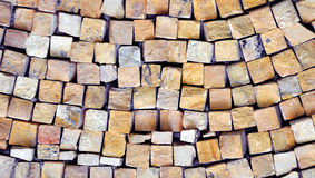 Mosaic wall Royalty Free Stock Images