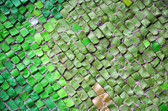 Mosaic wall Stock Image
