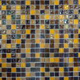 Mosaic Wall Stock Images