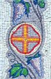Mosaic wall Stock Photo