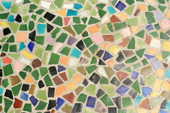 Mosaic wall decorative Stock Photos