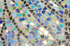 Mosaic wall decorative Royalty Free Stock Photos