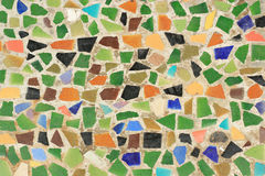 Mosaic wall decorative Royalty Free Stock Photography