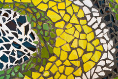 Mosaic wall decorative ornament Stock Images