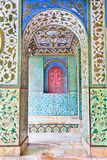 Mosaic wall of Golestan  palace, Tehran Stock Photo