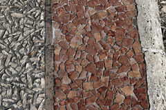 Mosaic Wall Pattern royalty free stock image