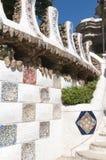 Mosaic wall Stock Photography