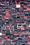 Mosaic wall texture Stock Images