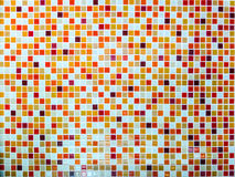 Mosaic wall tile lava hot tone color high resolution Royalty Free Stock Images