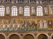 Mosaic walls with three Magi of Catherdal Stock Image
