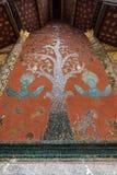 Mosaic at Wat Xieng Thong temple in Luang Prabang Royalty Free Stock Images