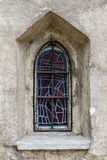 Mosaic-window - St.Ruprechts church in Vienna. Austria Stock Photography
