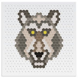 Mosaic Wolf Stock Images