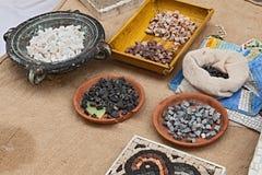 Mosaic workshop Royalty Free Stock Image