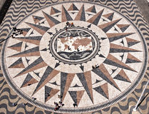 Mosaic World Map Stock Images