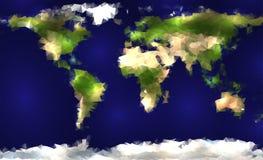 Mosaic world Stock Images