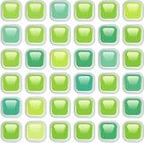 Mosaicgreenbuttons Royalty-vrije Stock Afbeeldingen