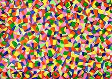 Mosaici dall'acquerello Immagine Stock