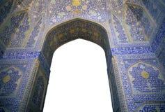 Mosaici persiani complicati fotografia stock libera da diritti