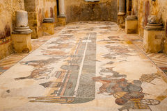 Mosaici romani Immagine Stock