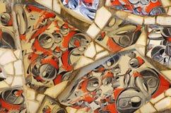 Mosaici spagnoli moderni Immagine Stock