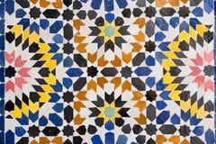 Mosaico árabe fotografía de archivo libre de regalías