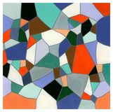 Mosaico Imagens de Stock Royalty Free