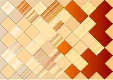 Mosaico abstracto stock de ilustración
