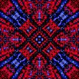 Mosaico abstracto de la fantasía Fotos de archivo