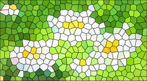 Mosaico abstracto del color stock de ilustración