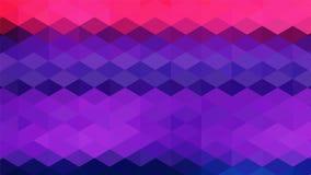 Mosaico abstracto del fondo stock de ilustración